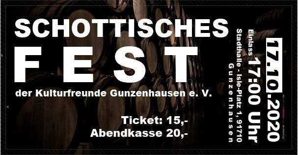 Schottisches Fest Ticket